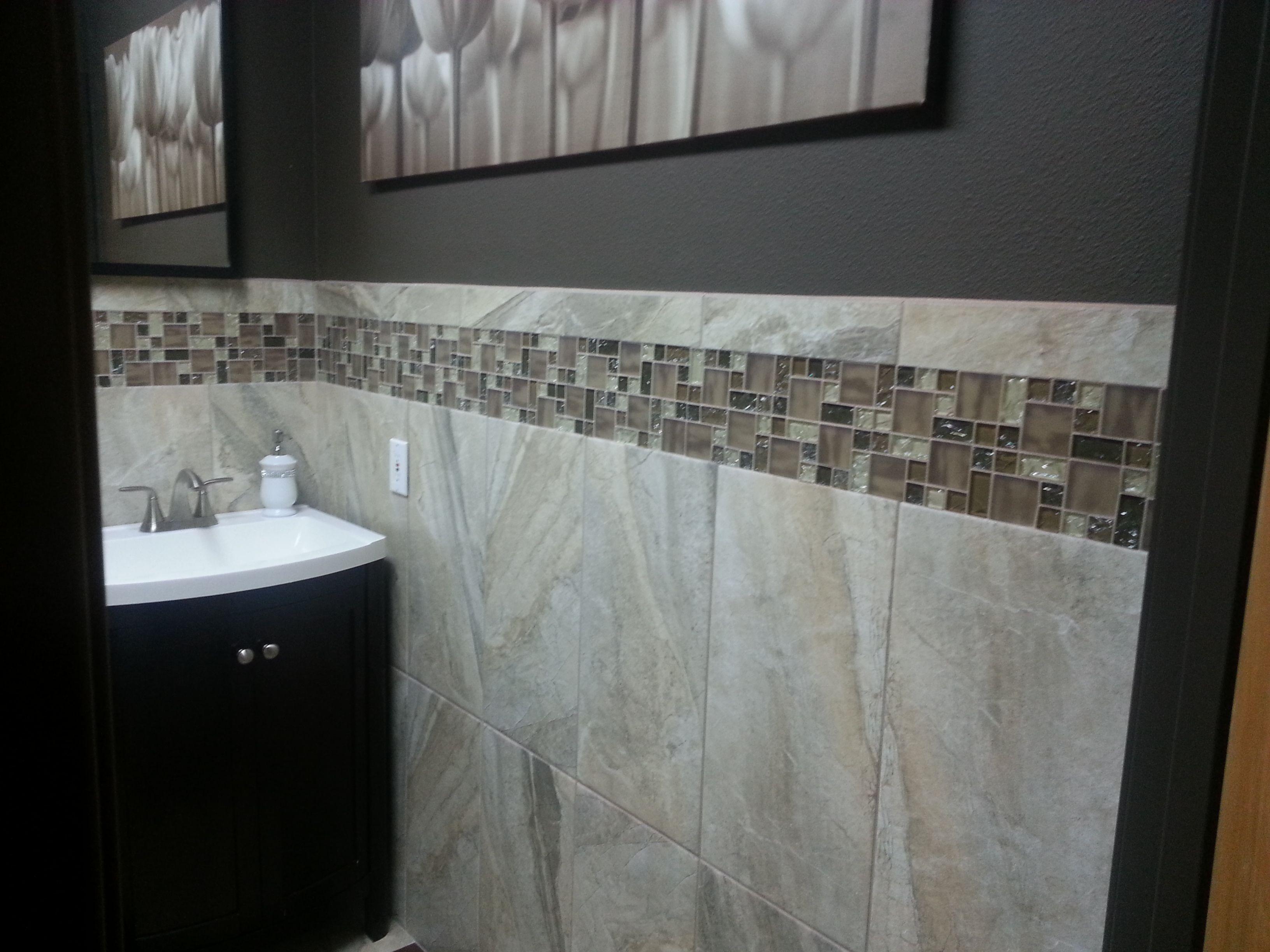 Emser tile eurasia bianco 12x24 field tile 3x13 for 12x24 window