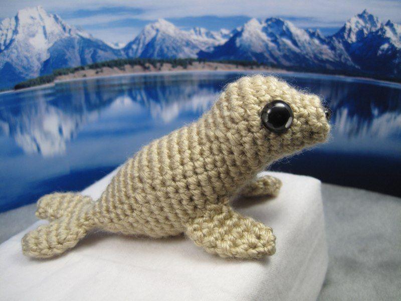 baby seal amigurumi crochet pattern | Crochet | Pinterest | Baby ...