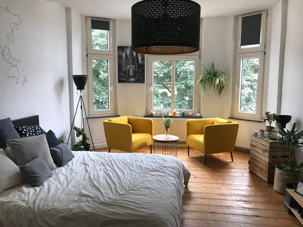 Ist Ein Zimmer Farblich Sehr Einheitlich Gestaltet Bietet Sich