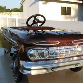 1959 Hamilton Chevy Pedal Car Very Rare