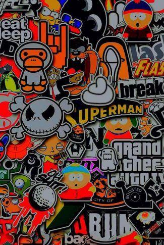 Download Graffiti Collage 3 Wallpaper   CellularNews