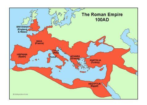 Roman Empire 100AD - At its zenith!