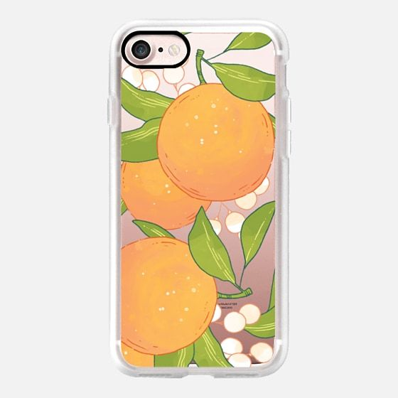 Casetify iPhone 7 Case and Other iPhone Covers - Citrus Oasis by Paper Raven Co. | #Casetify