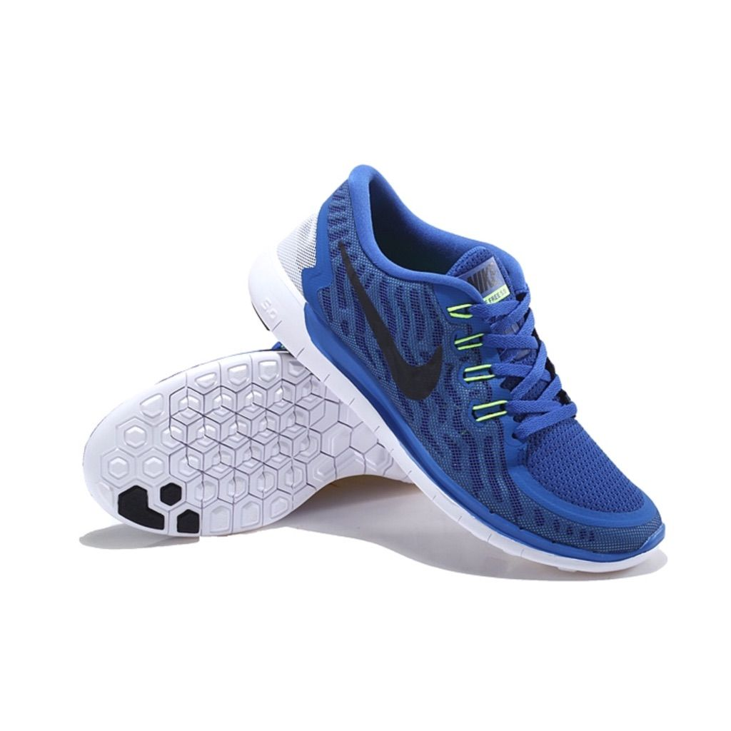 Nike Shoes | Nike Free 5.0 Blue Running Shoes | Color: Blue | Size: 6