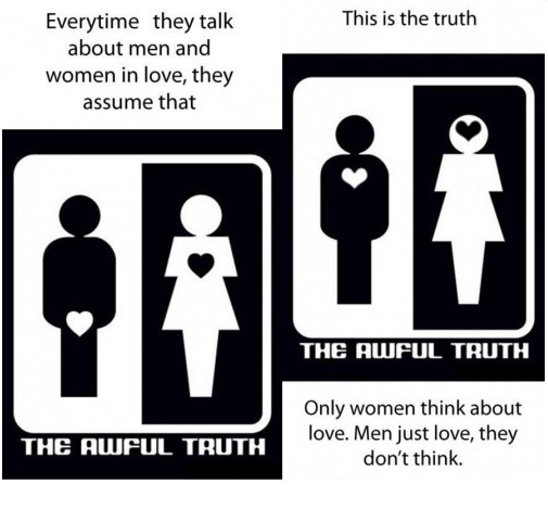 Men Vs Women Funny Quotes: Truth About Man And Woman- Funny Gaga