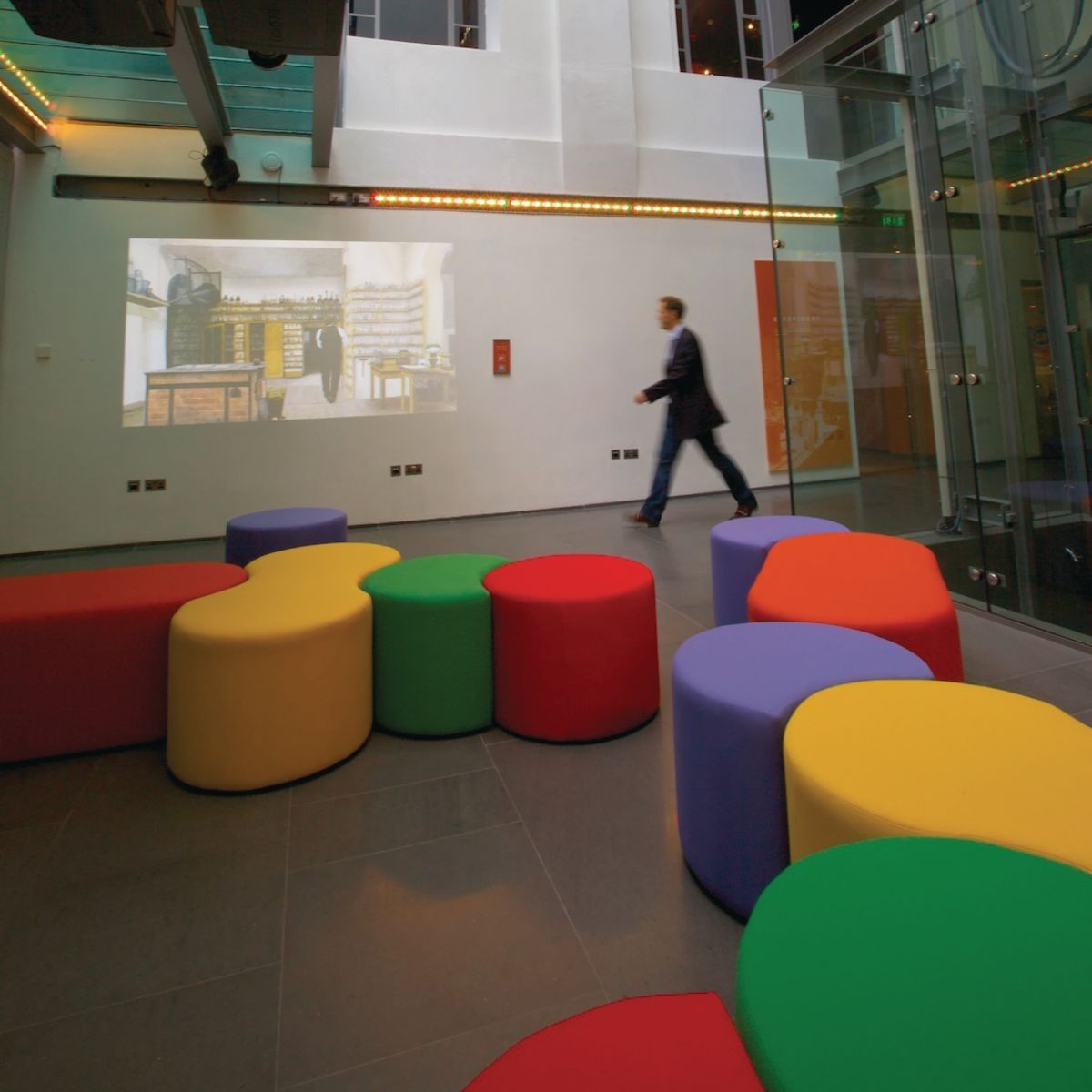 Beautiful Dot/Dash Modular Seating : Gresswell   Specialist Library Supplies