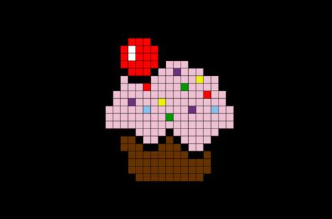 Résultat De Recherche Dimages Pour Pixel Art Cupcake