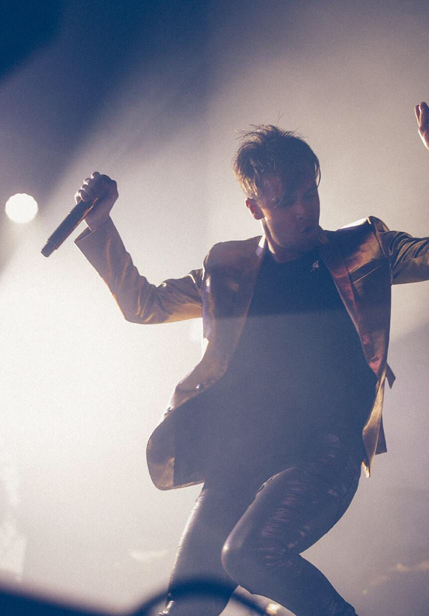 From the this is gospel tour panic at the disco rocking out as