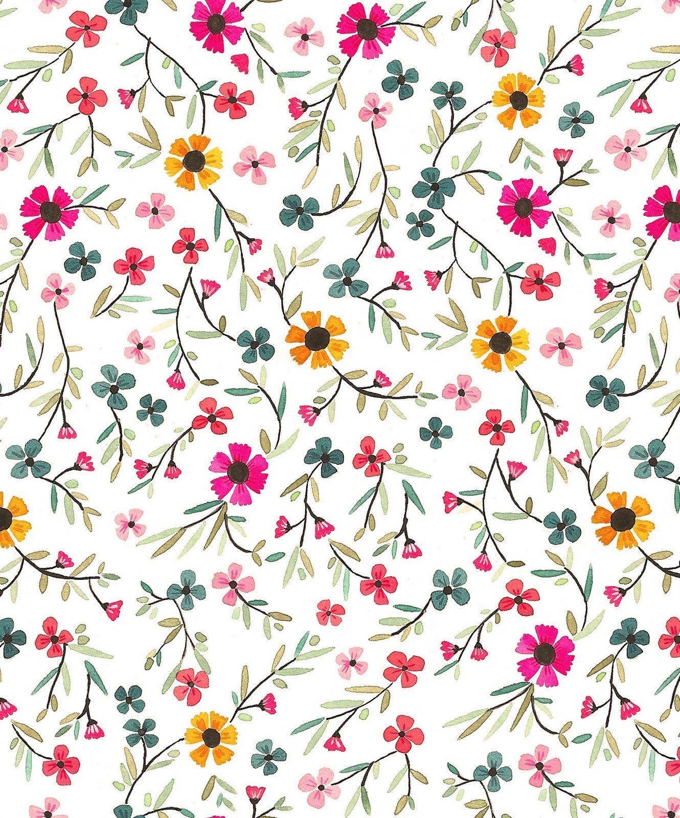 floral pattern estampado floral patterns pinterest