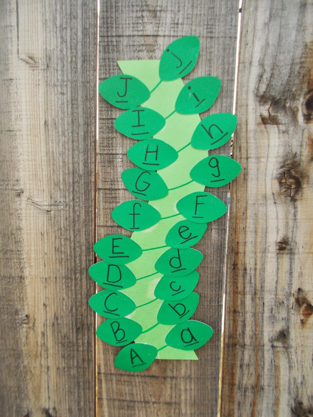 Jack And The Beanstalk Letter Matching Activity Chipman S Corner Preschool J Is For Jack And