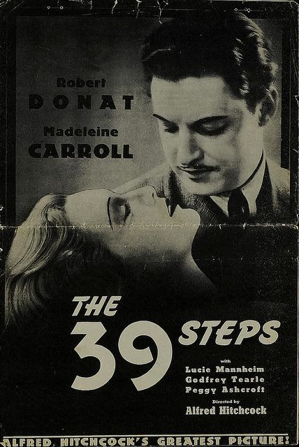 The 39 Steps (Alfred Hitchcock, 1935)