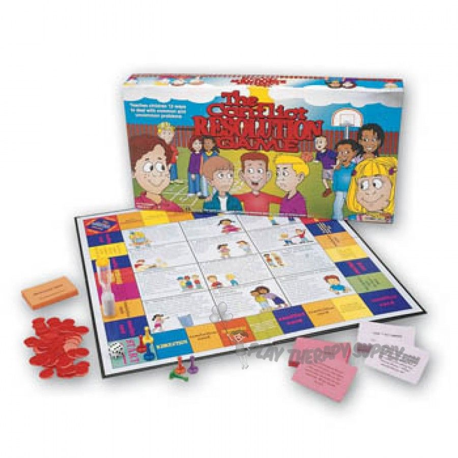 Stop Relax Resolve Conflict Game Conflict Resolution Board