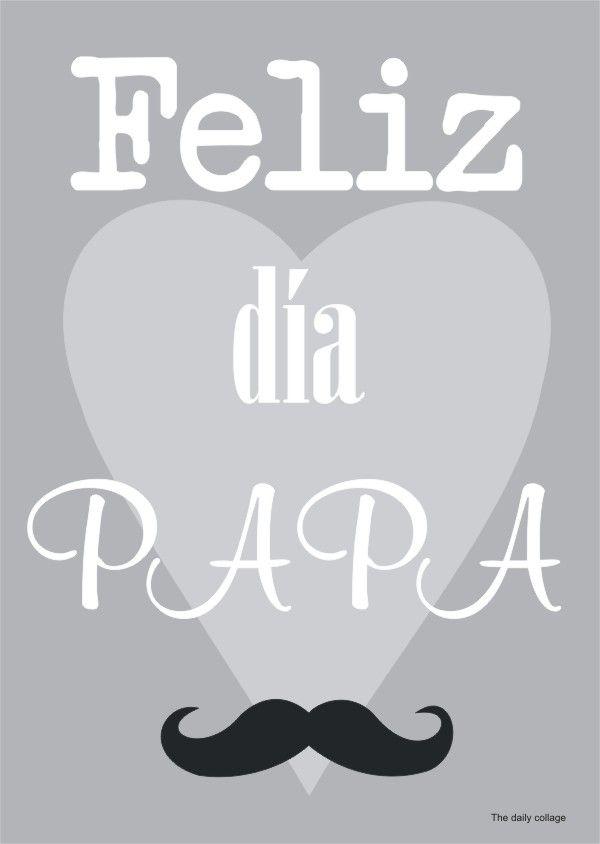 Cartel Lamina Felicitacion Dia Del Padre Felicitaciones Dia Del