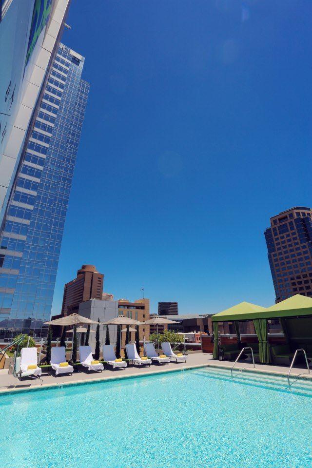 6 Coolest Rooftop Pools In Phoenix Phoenix Vacation Downtown