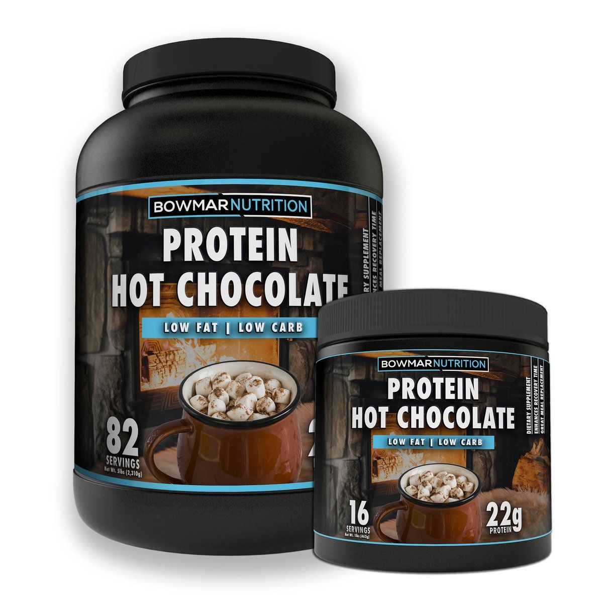 Protein Hot Chocolate Bowmar Nutrition in 2020 Hot