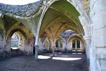 Waverley Abbey And Witches Cave Walk Approx 8 Miles Derelict Places Dissolution Of The Monasteries England