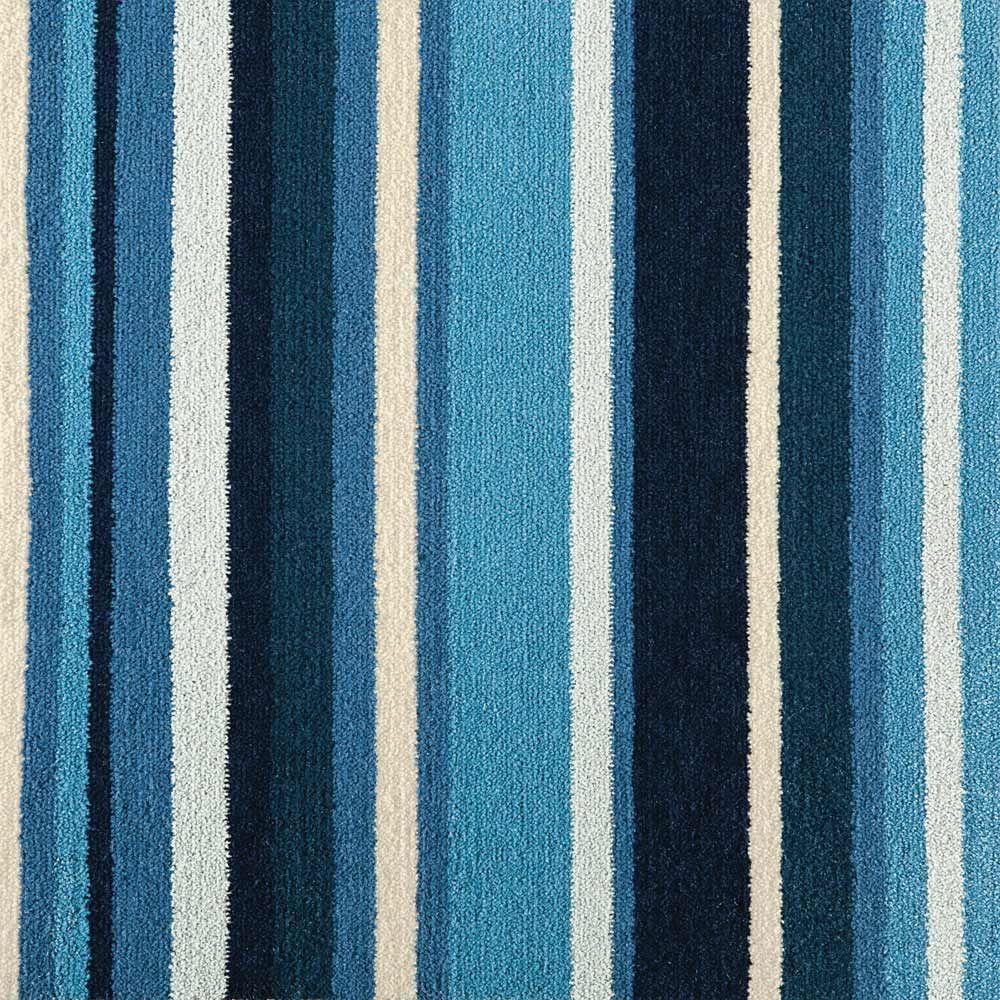 Blue Stripes Carpet Square 12 99