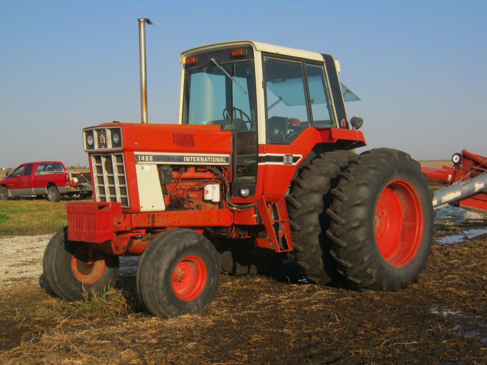 Ford Tractor Auger Parts : International harvester tractors tractor back in the