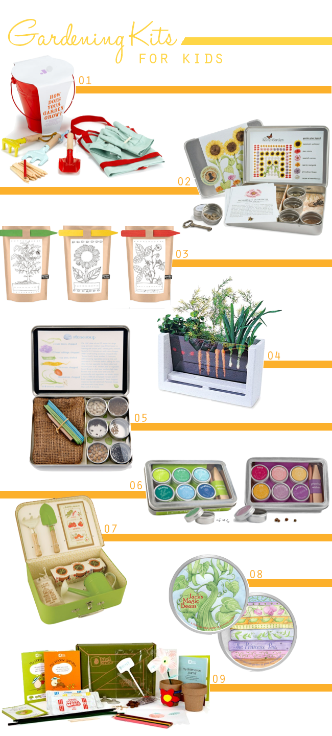9 Cute Gardening Kits For Kids With Images Garden Crafts For