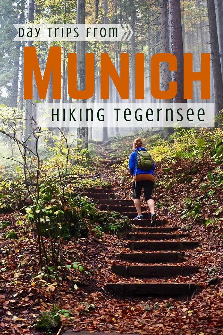 Hike in the beautiful Bavarian Alps near Munich, Germany. This easy day trip from Munich gives you amazing views of Tegernsee and The Alps without much work!