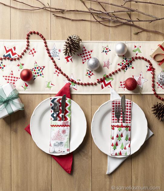 Oh Starry Night  Table Runner Tutorial {Handmade Christmas} (Samelia\u0027s Mum   Quilting, Crafting, Crochet \u0026 Cake). Deco NoelHiverChemin
