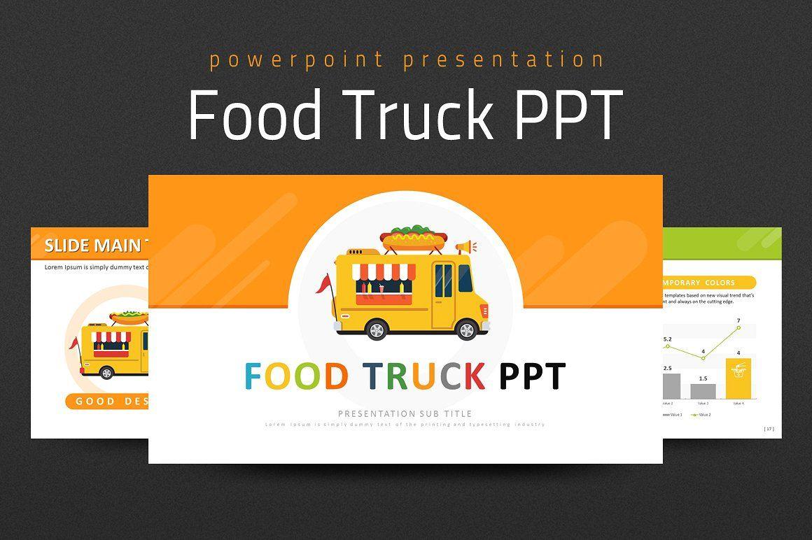 Food Truck Ppt Presentation Design Template Presentation
