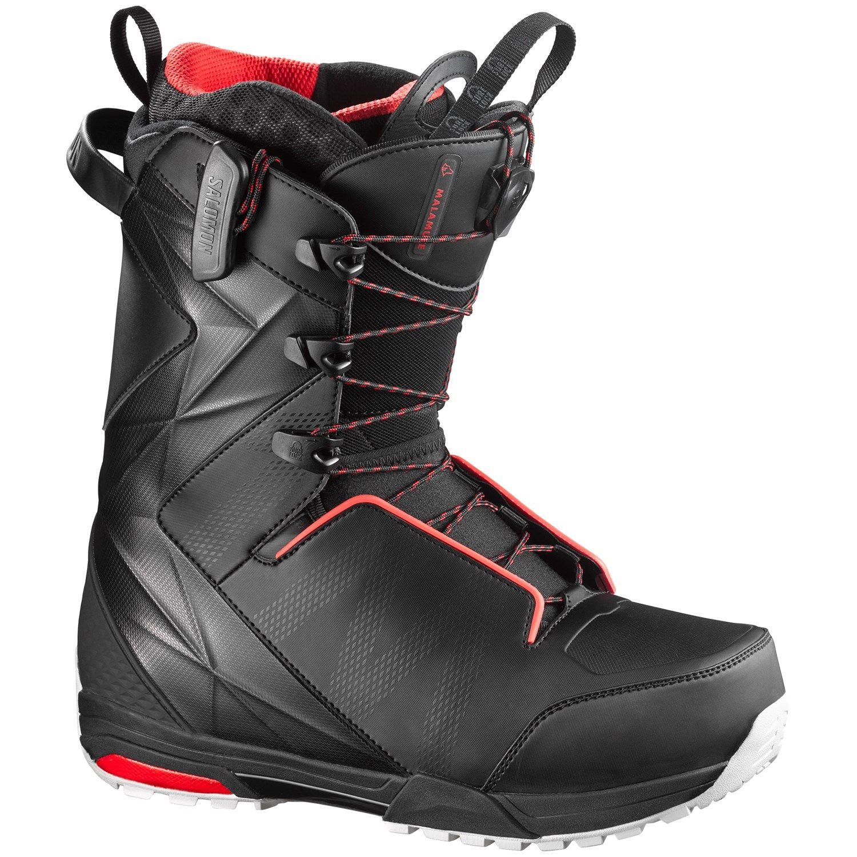 Salomon Malamute Snowboard Boots 2018 7 in Black