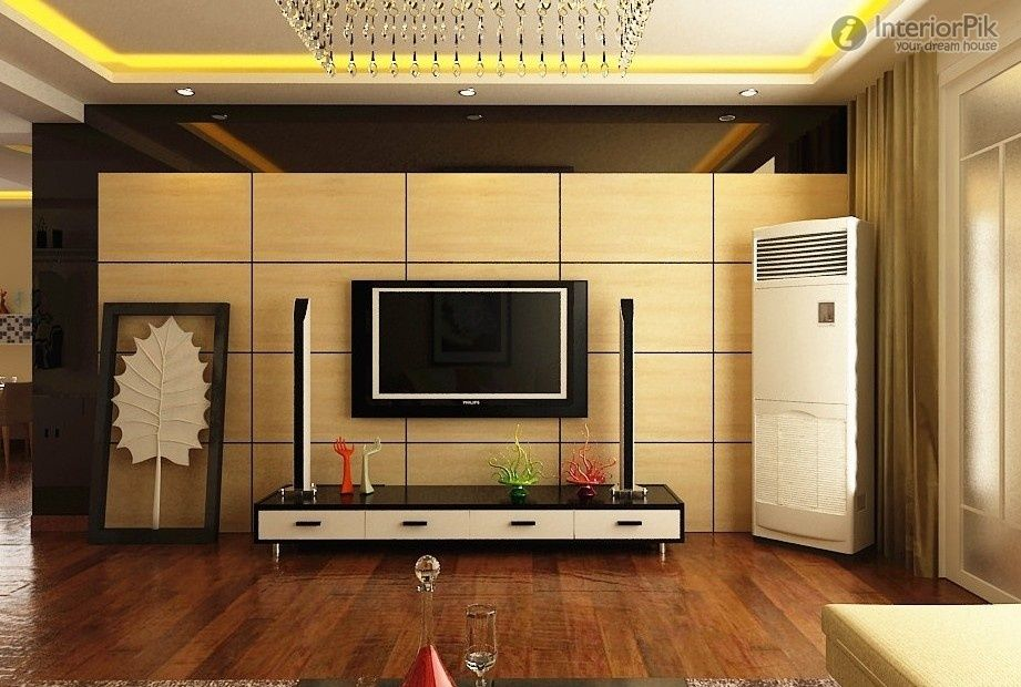 Modern Style Living Room Tv Wall Designs (