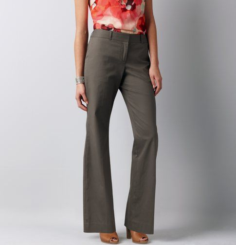 Julie Everyday Cotton Trousers - $59.50