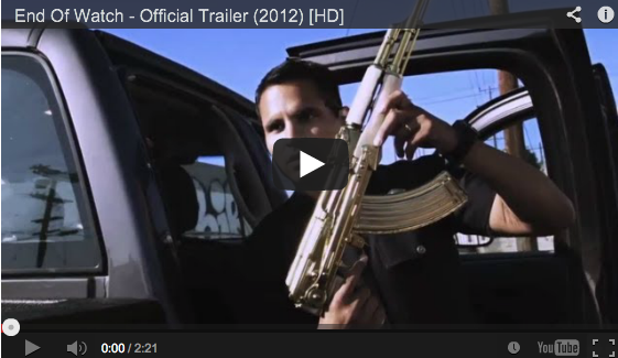 ODE TO THE BLUE END OF WATCH #JoshGyllenhaal #MichaelPena  http://lugz.com/blog/ode-to-the-blue-end-of-watch/