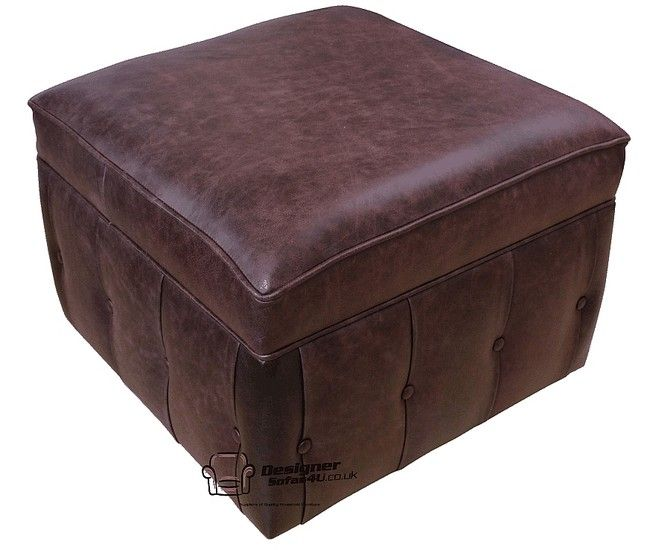 Swell Chesterfield Footstool Pouffe Uk Manufactured Old English Gmtry Best Dining Table And Chair Ideas Images Gmtryco