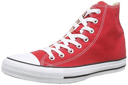 Converse All Star Hi Canvas Sneaker Unisex Adulto Rosso Varsity Red 42.5