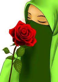 Hasil Gambar Untuk Gambar Muslimah Cadar Cantik Kartun Muslimah