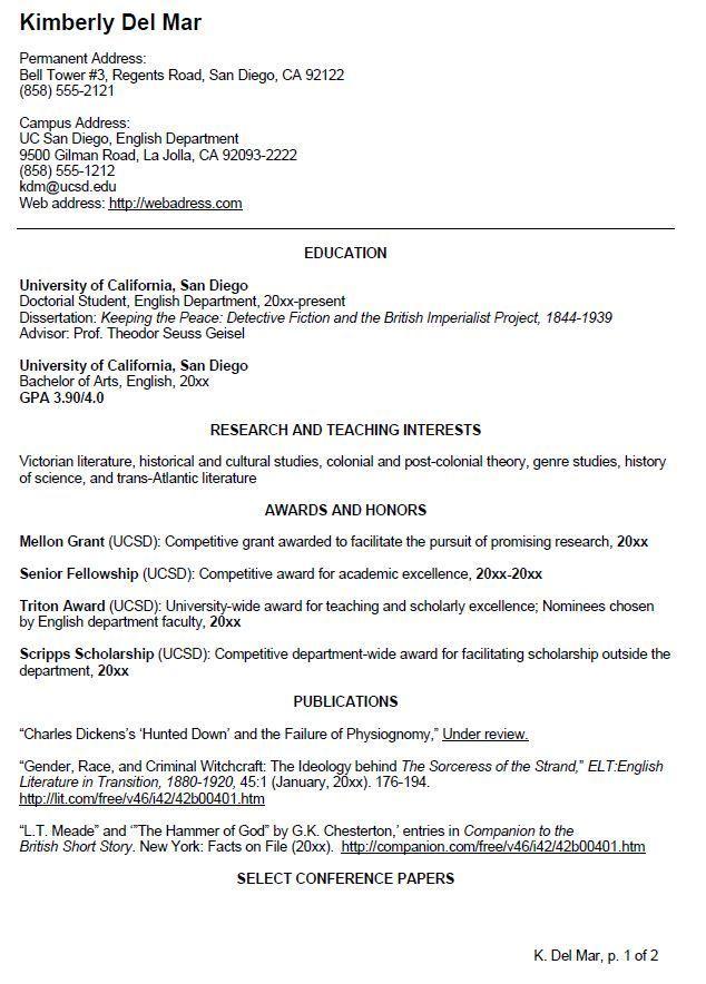 uk honors sample resumes