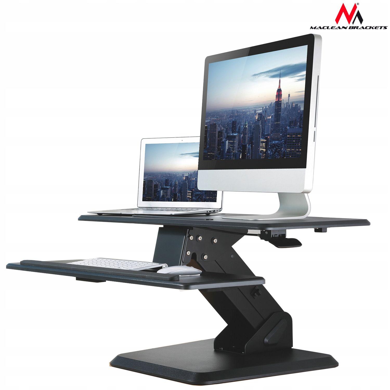 Stolik Biurko Komputerowe Do Pracy Stojąco Siedząc Stoły
