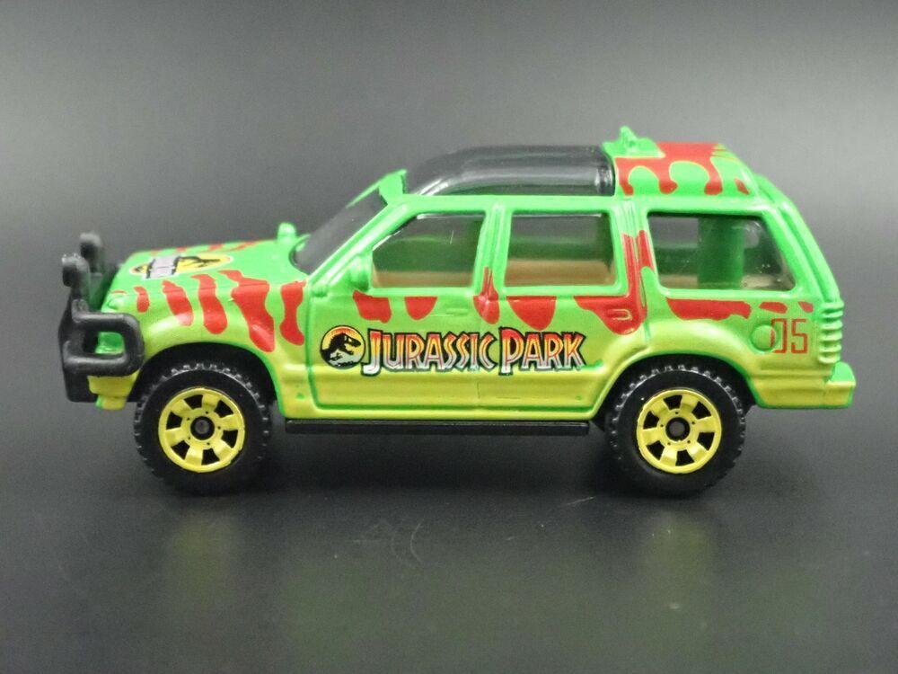 1993 Ford Explorer Jurassic Park Rare 1 64 Scale Diorama Diecast