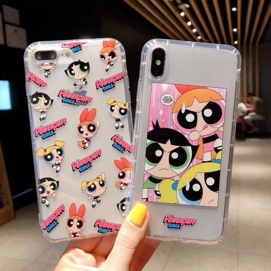 INSNIC Cute Powerpuff Girls Policemen iPhone Case (With