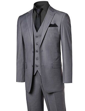 Youstar Men's Contemporary Classic Suits in Different Options