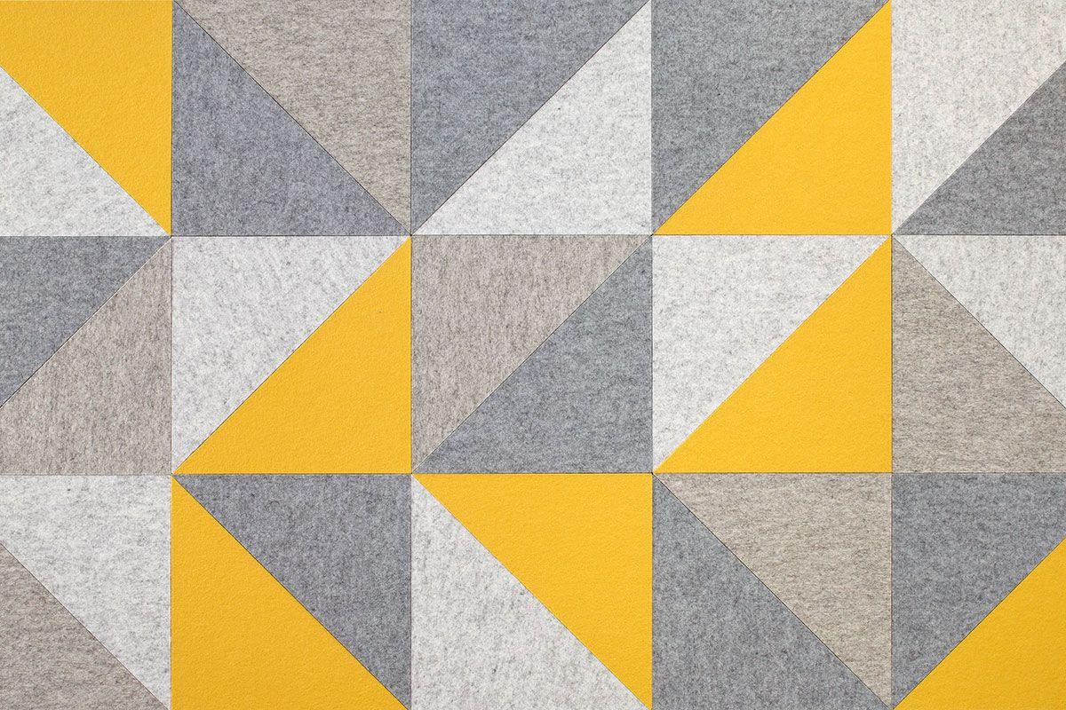 Triangle 90 Block Shop - FilzFelt | Decor ideas | Pinterest | Panel ...