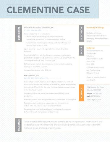 Griffin Business cards Resume styles and Cv ideas