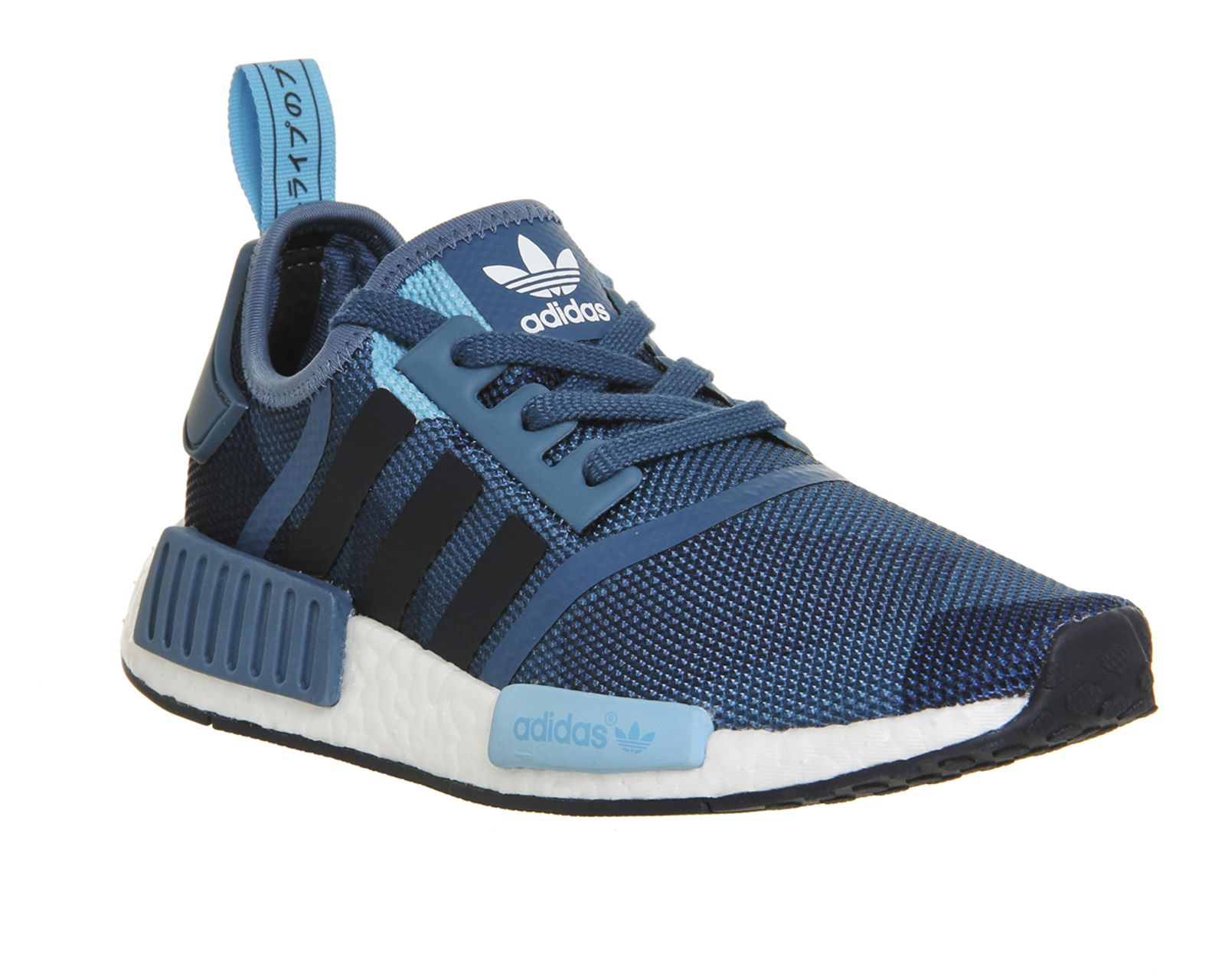 Adidas, Nmd, Black Blue Navy