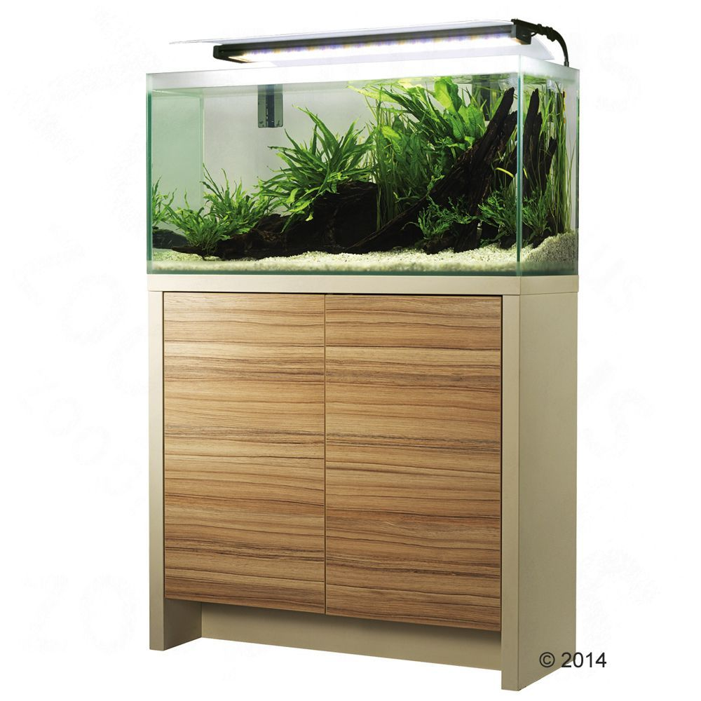 Animalerie Ensemble Aquarium Sous Meuble Fluval Fresh F60 85 L  # Aquarium Meuble Tv