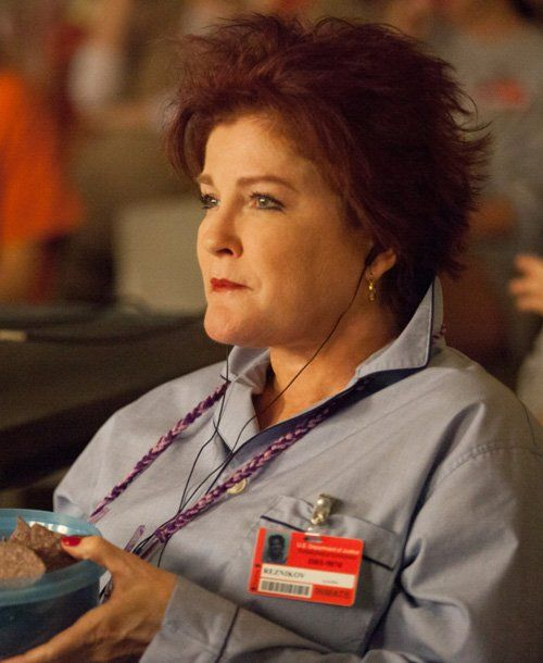 Kate Mulgrew as Red Love her in OITNB ! Great show!!!