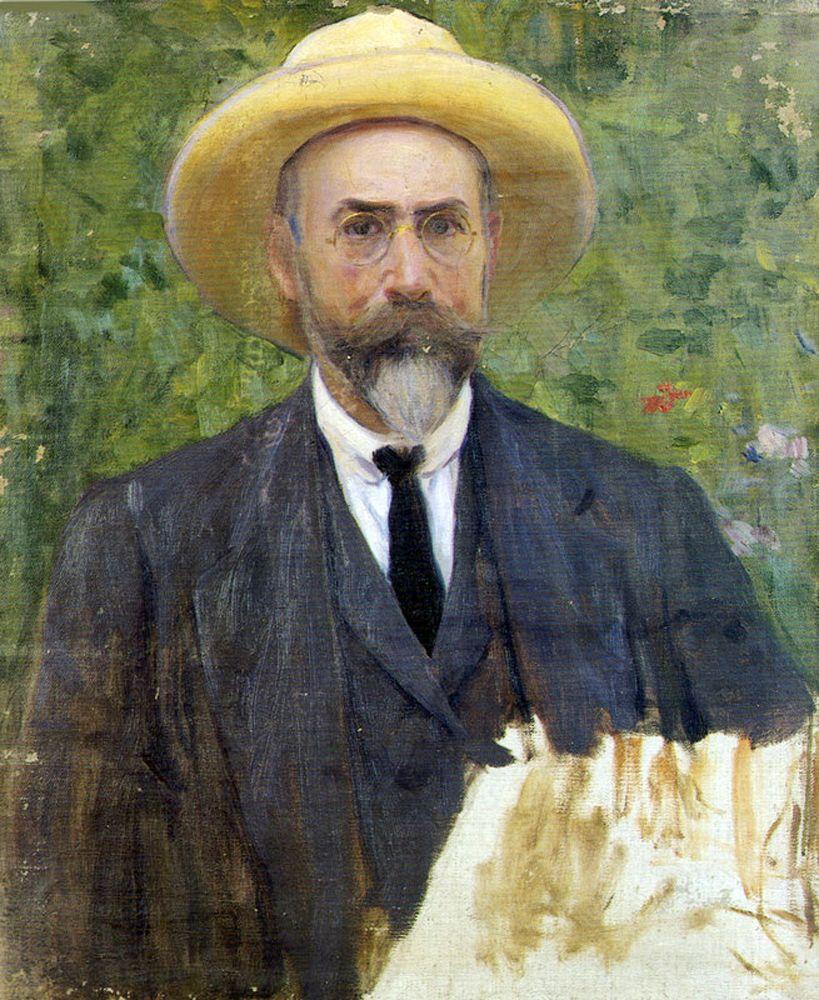 Autorretrato, José Benlliure Gil, ca. 1910 | Autorretratos, Retratos, Arte  del retrato