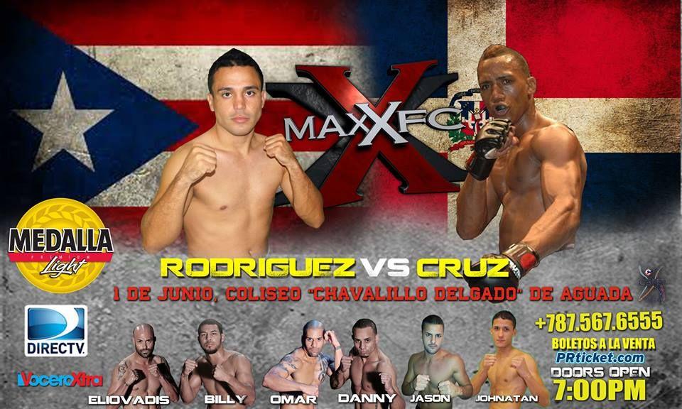 "MAXXFC 20 ""Rodríguez vs Cruz"" @ Coliseo Chavalillo Delgado, Aguada"