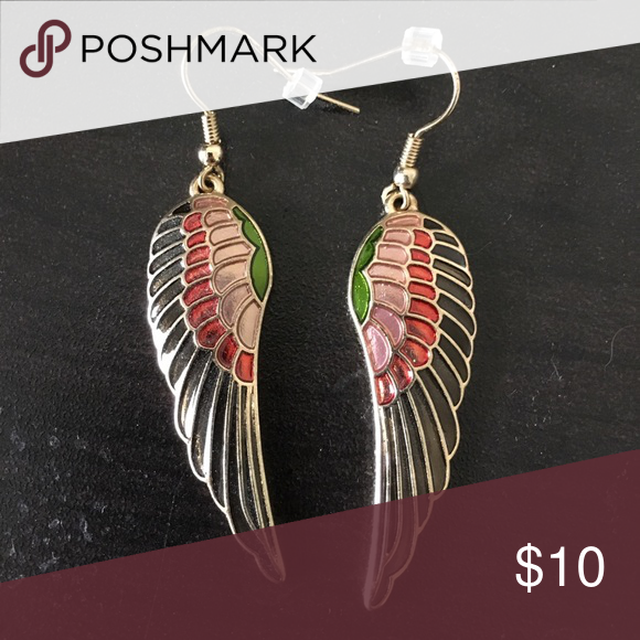 ModCloth Wing Earrings Never worn and in perfect condition. ModCloth Jewelry Earrings