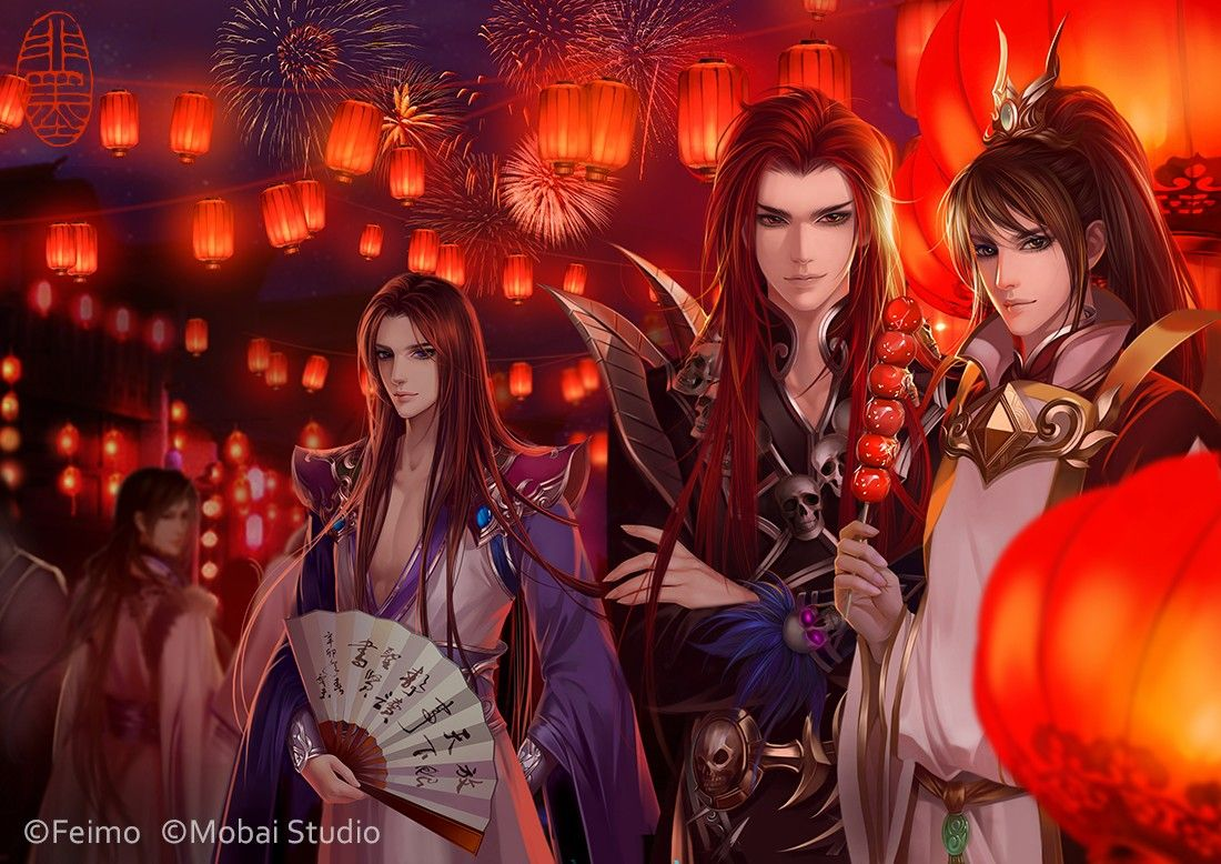Happy Lantern Festival(Sien nui yau wan 2) by feimo on DeviantArt