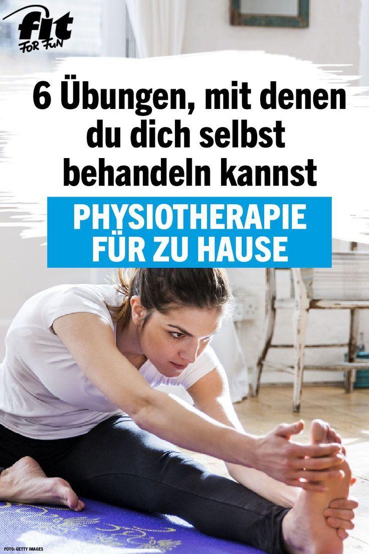 Sechs Physiotherapie-Übungen für zu Hause - FIT FOR FUN