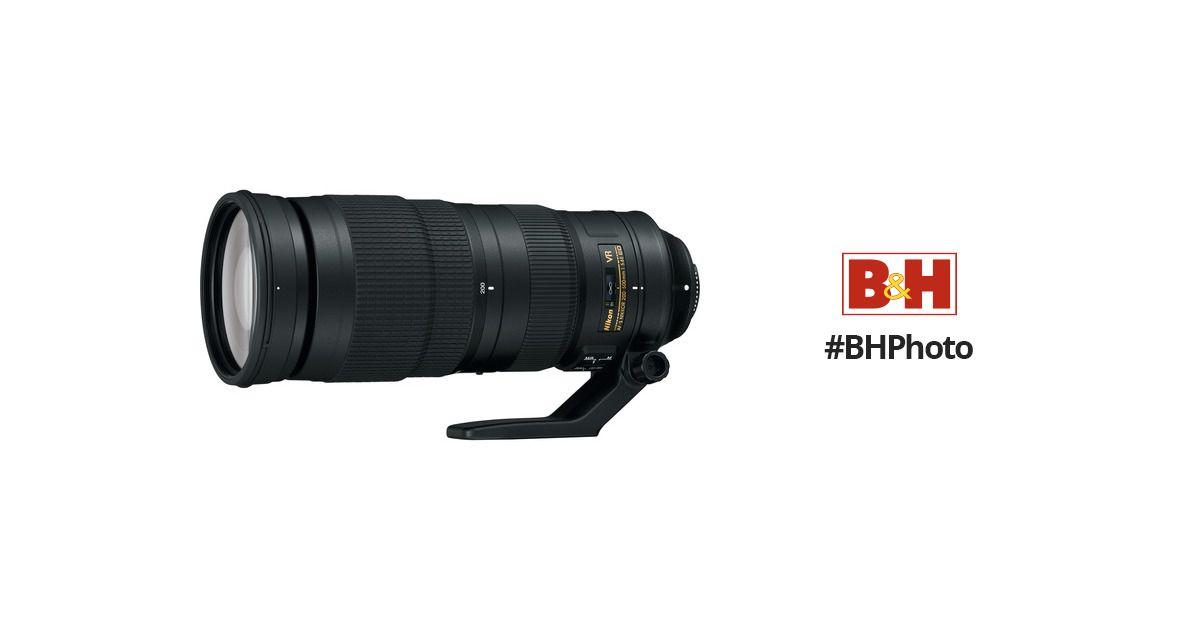 Nikon Af S Nikkor 200 500mm F 5 6e Ed Vr Lens