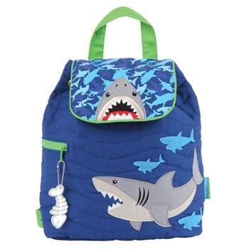 Personalizada nuevo mochila acolchada Stephen Joseph tiburón